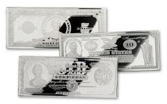 Abraham Lincoln 3 Piece Silver Currency Proof Set