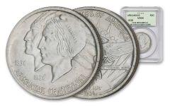 1935-1939 Arkansas Centennial Silver Half-Dollar NGC/PCGS MS66