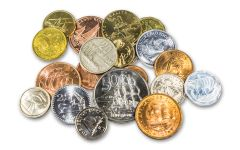 20-Piece Historical Ship Coins From 20 Countries