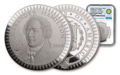 1903 Smithsonian Institution Morgan Treasury Medal 1-oz Silver NGC PF70UC