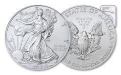2015-(P) 1 Dollar 1 Ounce Silver Eagle Struck At Philadelphia PCGS MS69