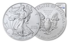 2017-(P) 1 Dollar 1 Ounce Silver Eagle Struck At Philadelphia NGC MS69 Early Releases