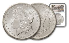 1880-S Morgan Silver Dollar New York Bank Hoard Treasury NGC MS65 20-Piece Roll