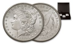 1880-1887-P-O-S Morgan Silver Dollar New York Bank Hoard Treasury 3-Piece Set NGC MS64