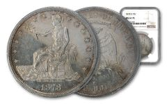 1878-S Silver Trade Dollar NGC MS61 PL