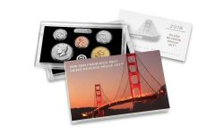2018-S United States Silver Reverse Proof Set