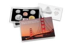 2018-S United States Silver NGC Reverse Gem Proof Set - First Day Of Issue