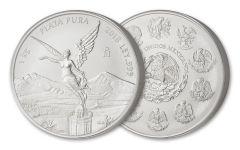 2018 Mexico 1 Kilo Silver Libertad BU