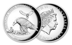 2018 Australia $10 10-oz Silver Wedge Tailed Eagle High Relief Proof