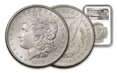 1878-S Morgan Silver Dollar New York Bank Hoard Treasury NGC BU