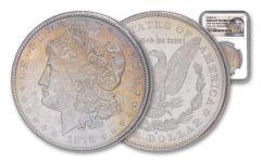 1878-S Morgan Silver Dollar New York Bank Treasury Hoard NGC BU