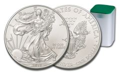 2019 $1 1-oz Silver American Eagle BU 20-Piece Roll