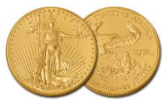 2019 $25 1/2-oz Gold American Eagle BU