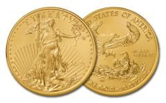 2019 $50 1-oz Gold American Eagle BU