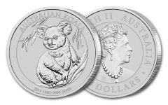 2019 Australia $30 Kilo Silver Koala BU