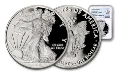 2019-W $1 1-oz Silver American Eagle NGC PF70UC Early Releases - Silver Star Label