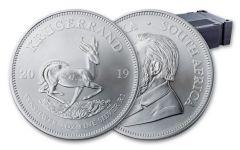 2019 South Africa 1-oz Silver Krugerrand BU 500-Piece Monster Box