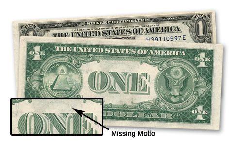1935 1 (One) Dollar Silver Certificate Bill | GovMint com