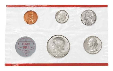 1964 United States Mint Set | GovMint com