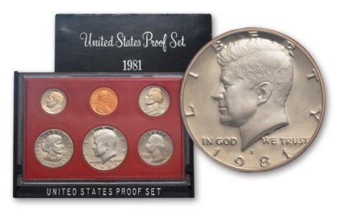 1981 United States Proof Set | GovMint com