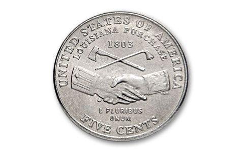2004-P Peace Nickel Roll Uncirculated   GovMint com
