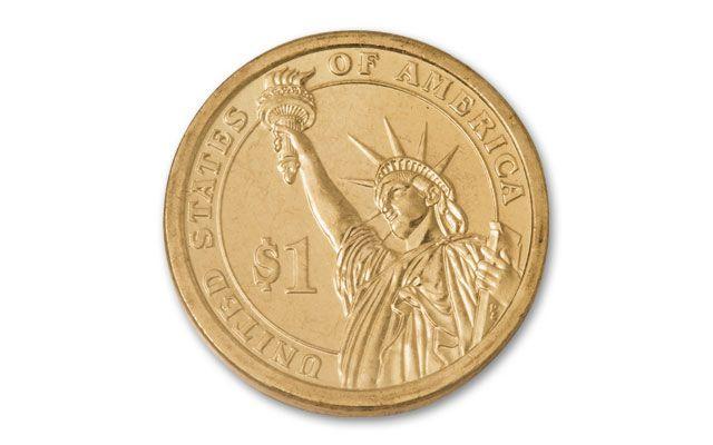 2009 1 Dollar Presidential Error William Henry Harrison PCGS MS67 Moy  Signed | GovMint com