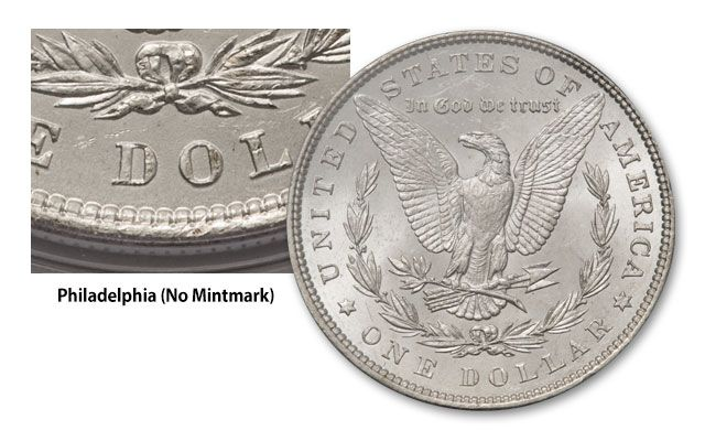1881-1887-POS Morgan Silver Dollar 3pc Set NGC MS63 | GovMint com