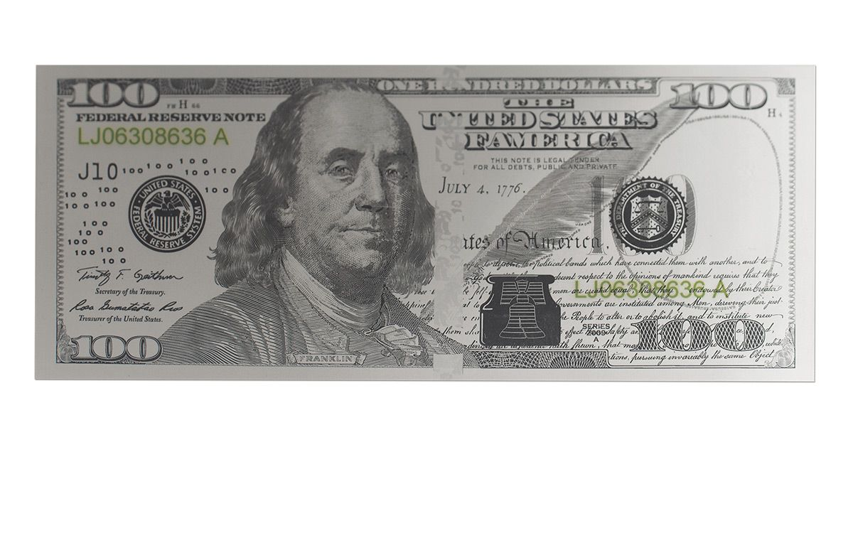 2017 100 Dollar Benjamin Franklin Silver Currency Strike | GovMint com