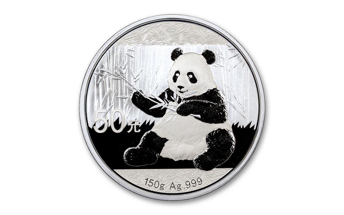 2017 China 150 Gram Silver Panda Proof Govmint Com
