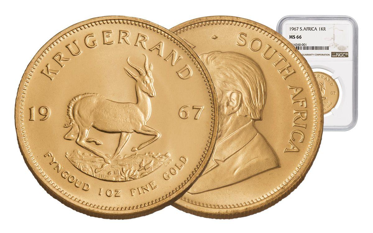 Krugerrand de oro 1967