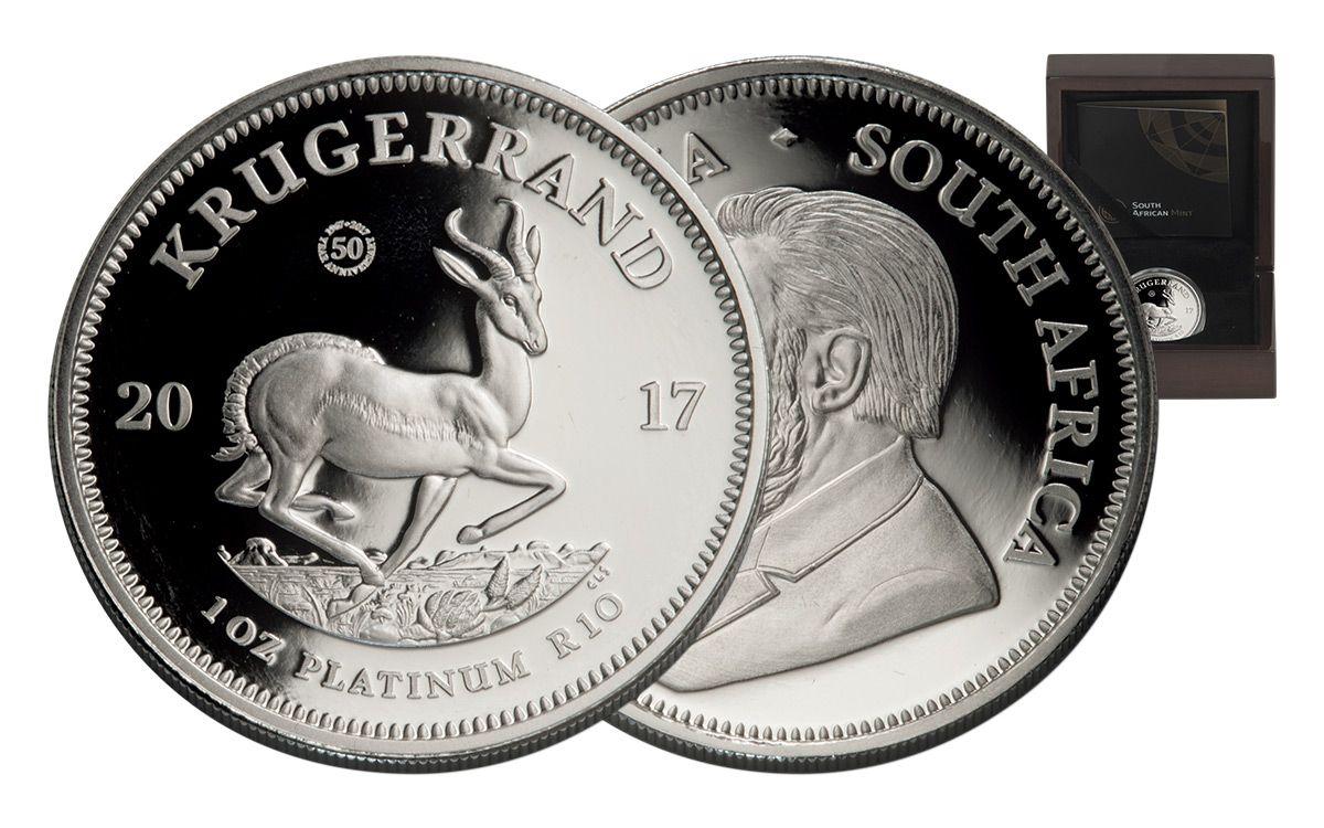 Bullion de platino - Krugerrand