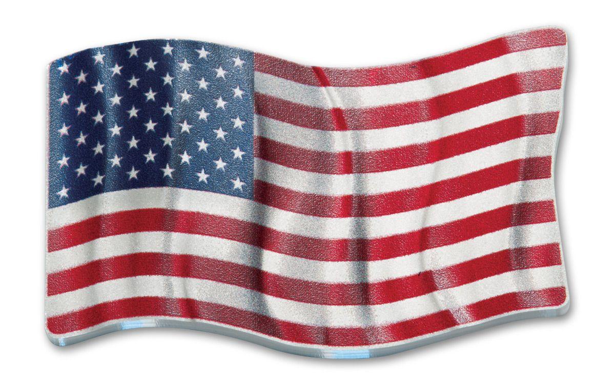 86b293d21da0 2017 Niue 2 Dollar 1-oz Silver Waving American Flag Proof