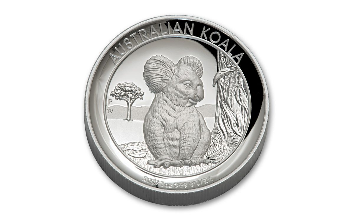 2017 Australia 1 1 Oz Silver Koala High Relief Proof Coin