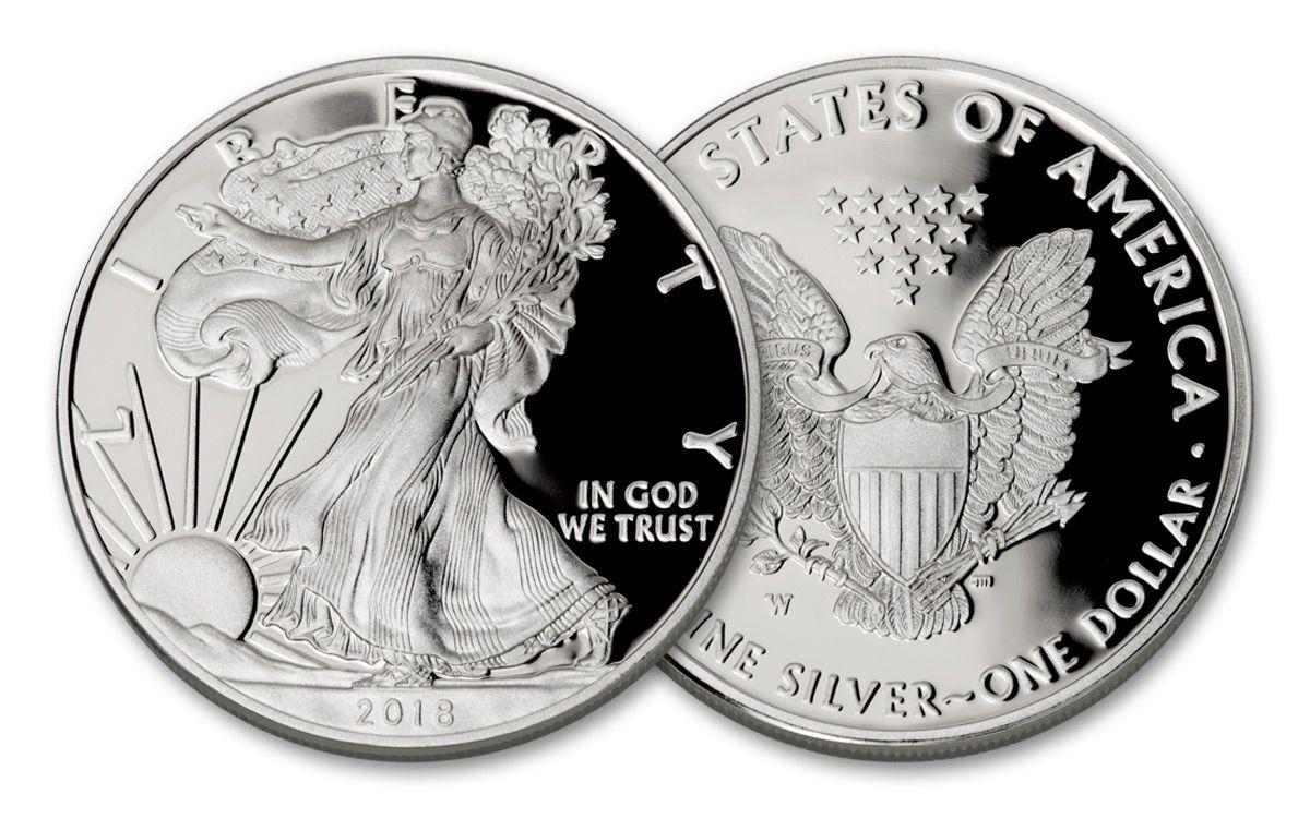 American Eagle Credit Card Login >> 2018 US West Point One Dollar 1-oz Silver Eagle Proof OGP ...