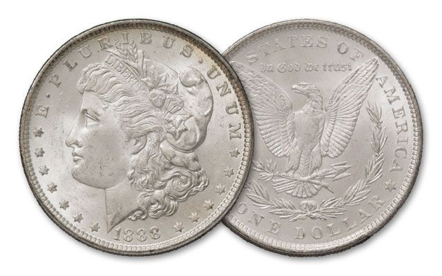 1888-P Morgan Silver Dollar BU