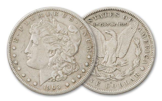 1903-S Morgan Silver Dollar VF