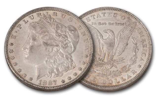 1887-O Morgan Silver Dollar XF