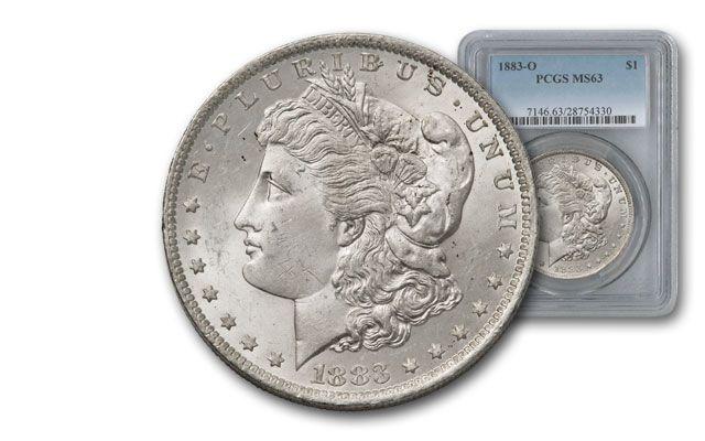 1883-O Morgan Silver Dollar PCGS MS63