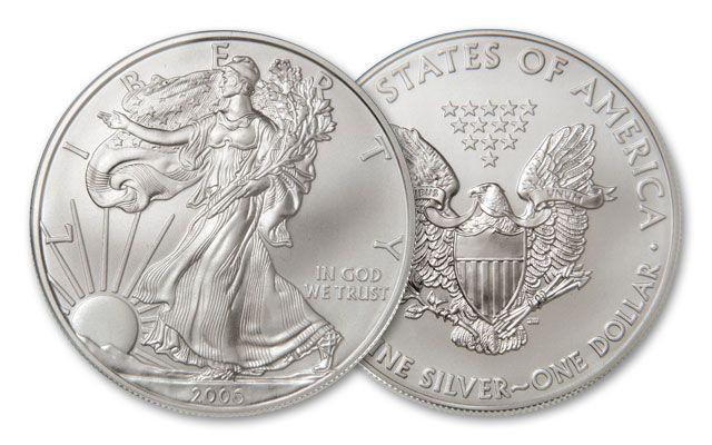 2006 1 Dollar 1-oz Silver Eagle BU