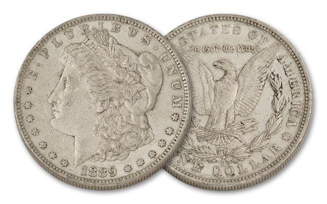 1889-O Morgan Silver Dollar XF