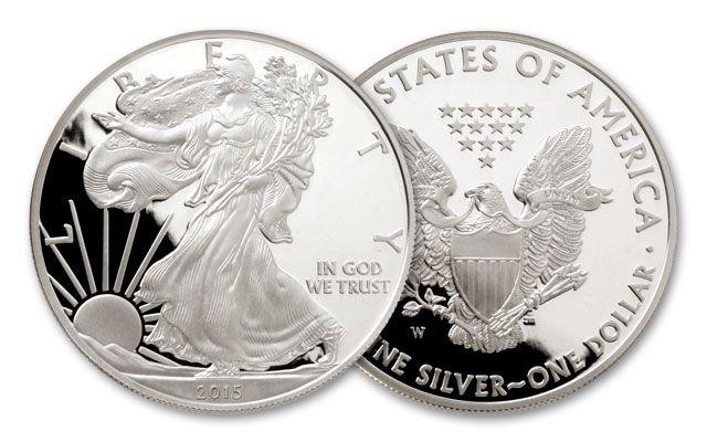 2015 1 Dollar 1-oz Silver Eagle Proof