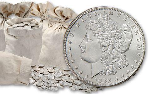 1879-1904 Morgan Silver Dollar BU Lone Star Hoard 20 Pieces