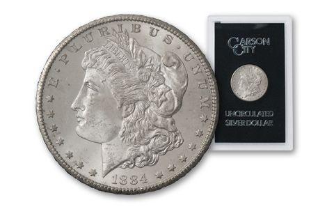 1884-CC Morgan Silver Dollar BU GSA