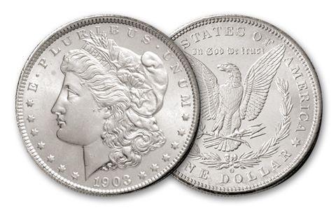 1888-O Morgan Silver Dollar BU