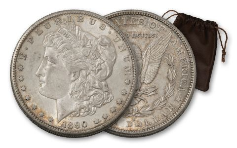 1890-S Morgan Silver Dollar - End of Frontier XF