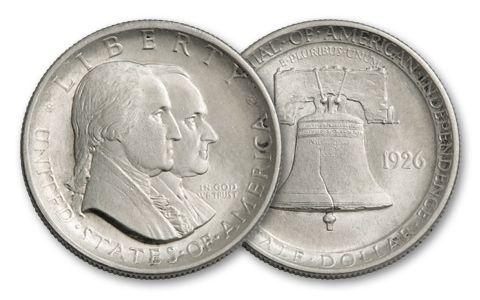 1926-P 50 Cent Sesquicentennial AU