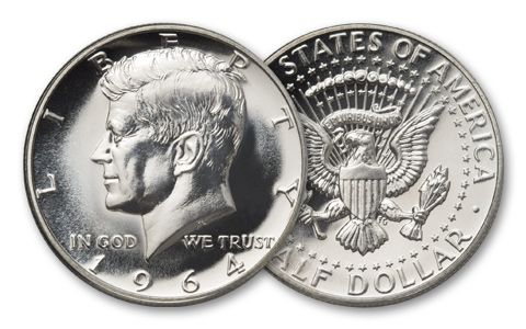 1964 Half Dollar Kennedy Proof