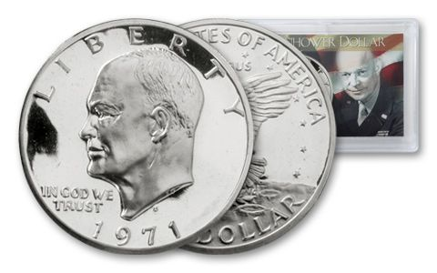 1971-S Eisenhower Dollar Proof with Holder
