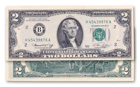 1976 Series 2 Dollar Federal Reserve Note CU