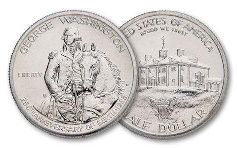 1982-D 50 Cent Washington Commemorative BU